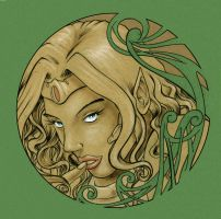 mucha elf by theryancardinal