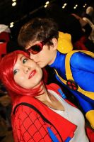 Cyclops Mj Kiss 2 By Danny Hunter by ComicChic19