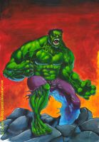 The incrdible HULK by CAOZXL