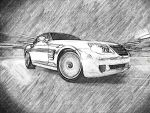 Chrysler Crossfire on track by dinoso