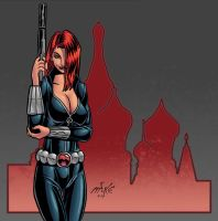 Black Widow II by spacehamster