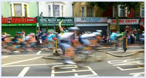 Tour de France in Walthamstow by xmaryxedgex