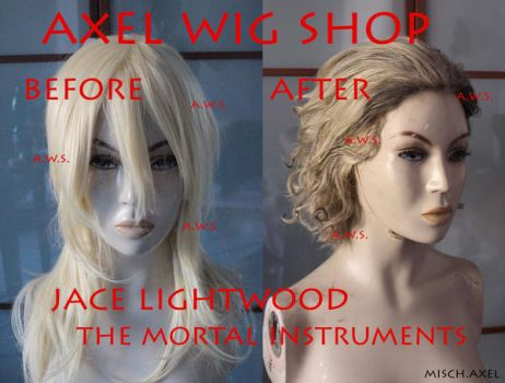 Jace Lightwood - The mortal istruments - WIG by MischievousBoyAilime