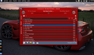Linux mint 12 Kde 4.8 GT4 2 by Draco23hack