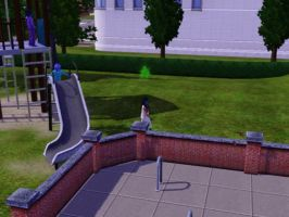 Sims 3 - I caught butterflies in the playground 2 by Magic-Kristina-KW