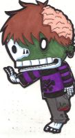 Zombie sticker for Shawn by Moose-muffins