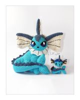Comparison size Vaporeon by LeFay00