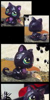 Littlest Displacer Beast by FoamWoods