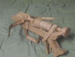 Cardboard crussaders crossbow by SpoonSauce