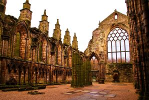 Hollyrood Abbey II by gendosplace