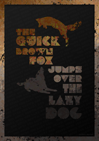 The Quick Brown Fox Jumps Over The Lazy Dog 2 by Envinite