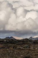 clouds on a mountain by sfoisy