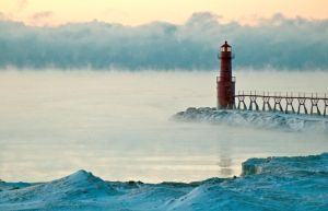 Algoma Lighthouse by NorthOne