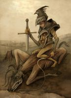 Flogging a Dead Horse by DaveWhitlam