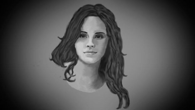 Emma Watson Painting Wallpaper by CaptainSwanForever