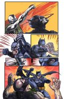 The Dark Knight Rises: Bane Vs. Batman by ADAMshoots