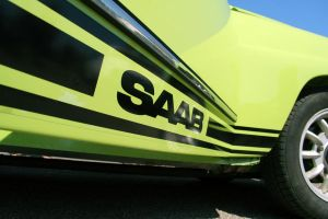 Opal Green Saab 96 by qmorley