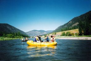 Rafting the Montana River by jrbamberg