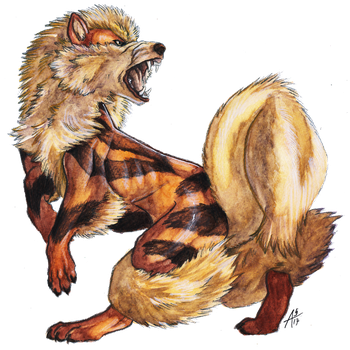 Gotta Draw 'em All: #059 ARCANINE (With Video) by ARVEN92