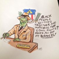 Cointelpro Kermit by Oldirtymastered