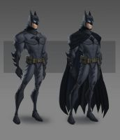 JLA CG Concepts - Batman by DanielAraya