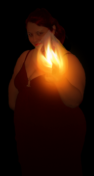 Enchanted BBW of the flame by Tkscz