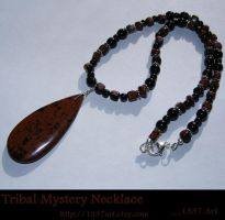 Tribal Mystery Necklace by 1337-Art