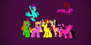 Total Drama Girls Mane 6, My Way by BeekerMaroo777