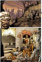 Bible graphic novel color test by vrm1979COLORS