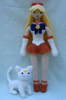 sailor venus and artemis by TheArtisansNook