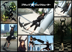Dead Master Cosplay Collage by Rinotou