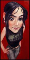 Karla Caricature by Sycra