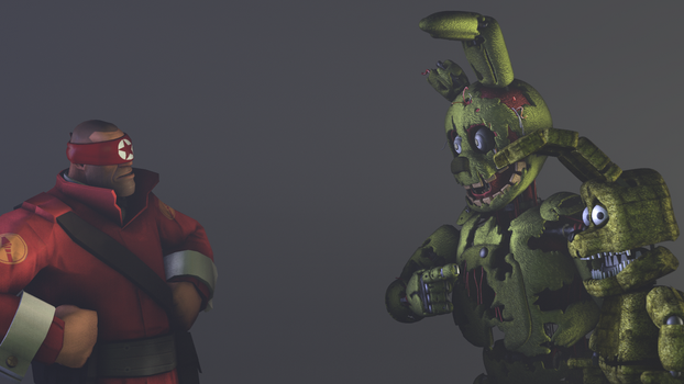 He used your Plushtrap but it was a bad animation! by LineX240