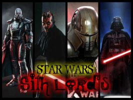 STAR WARS - Sith Lord's by StarkilerOmega