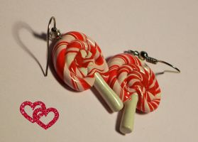 Cherry lollipop by Sarudanya