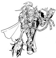 Paladin inks by zionson