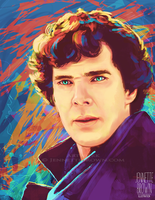 Consulting Detective by sugarpoultry