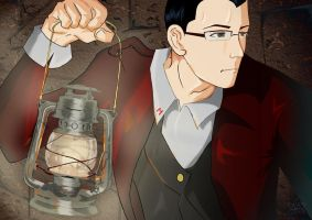 Markiplier in Amnesia The Dark Descent by Reika00Scarlet