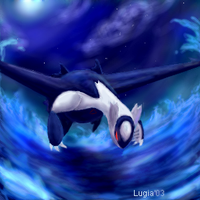 Latios - Thrust of Night by lugiagirlz