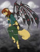 .:Switchblade Angel:. by ticticai