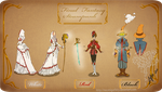 Cosplay design: FF Mages Steampunk by MecaniqueFairy