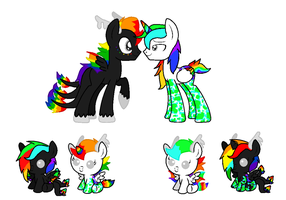 Rainbow Storm X Color Blind [CLOSED] by CuppieCakeAdopts