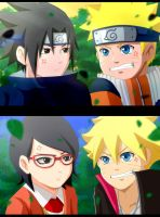 Naruto: resemblance by ichata