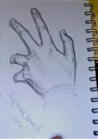 Hand study 1 by answerstotheuniverse