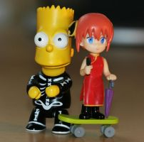 bart and kagura by EphemeralMind
