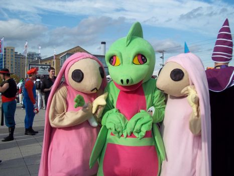 Grovyle n Co - MCM London Expo by DarknessRavyn