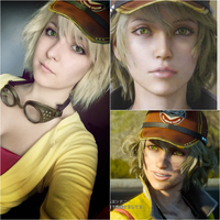 Cindy (Cid) Makeup test - FFXV Cosplay by Dragunova-Cosplay