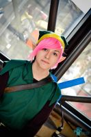 Pink Link Cosplay by NikkiCosplay
