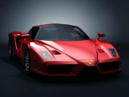 enzo ferarri by darthdesign