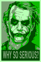The Joker ShepardFairey Green by WCFOmen